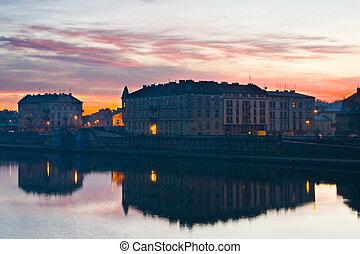 ポーランド, krakow, 日の出