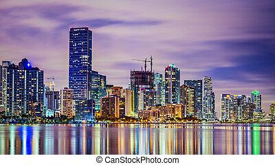 マイアミ, フロリダ, スカイライン
