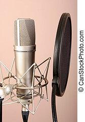 マイクロフォン, スタジオ