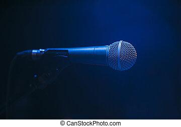 マイクロフォン, ステージ上で