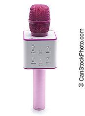 マイクロフォン, ピンク