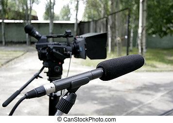 マイクロフォン, camcorder, hd