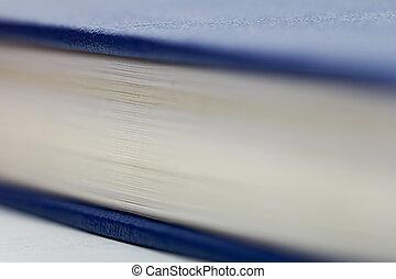 マクロ, 本, 背景。, ページ