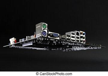 マザーボード, 宇宙船