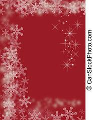 マジック, クリスマス, 背景, 赤