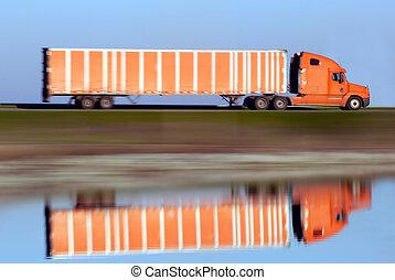 マジック, トラック輸送