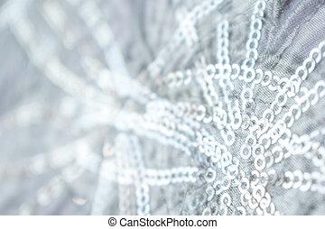 マジック, 冬, 抽象的, 背景, 光沢がある, 銀
