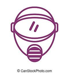 マスク, スタイル, セキュリティー, protectionline, bio