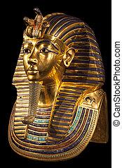 マスク, tutankhamun's