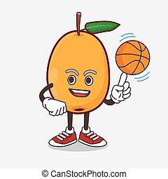 マスコット, フルーツ, びわ, 漫画, 特徴, バスケットボール