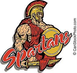 マスコット, spartan
