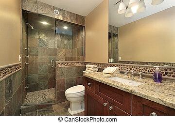 マスター, 贅沢, 浴室