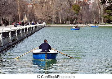 マドリッド, 旅行, -, 写真, 都市の景観, スペイン