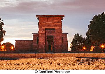 マドリッド, debod, 寺院