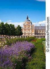 マドリードの 高貴な 宮殿, aranjuez