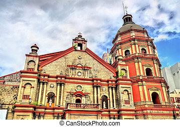 マニラ, フィリピン, binondo, 教会