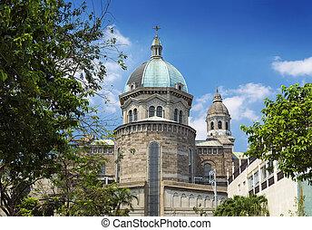 マニラ, 大聖堂, 中に, フィリピン