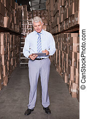 マネージャー, 執筆, クリップボード, 倉庫