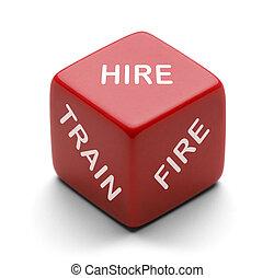 マネージャー, hire