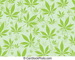 マリファナ, 背景, leafs