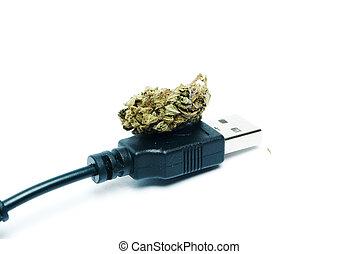 マリファナ, electronic-cigarette