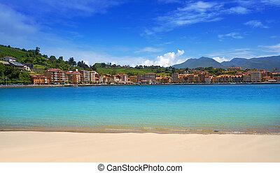マリーナ, ribadesella, 浜, santa, asturias