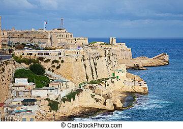マルタ,  Valletta, 光景