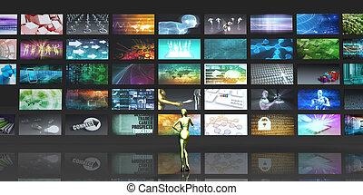マルチメディア, 技術