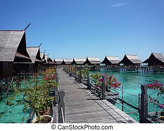 マレーシア, kapalai, 島