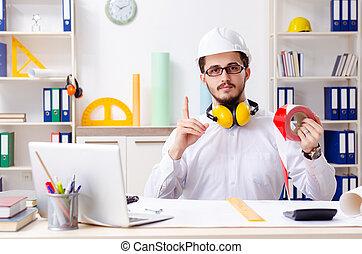 マレ, 建築家, 労働者のオフィス, 若い
