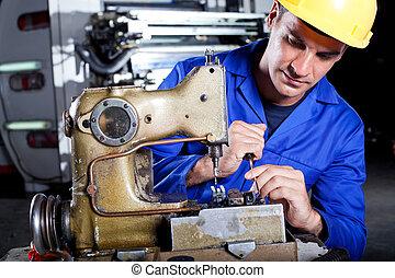 マレ, 機械工