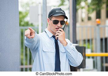 マレ, 監視, トーキー, 使うこと, セキュリティー, walkie