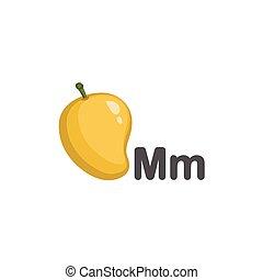 マンゴー, m