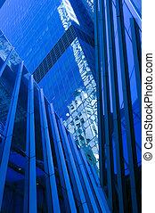 マンハッタン, 中に, 青