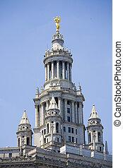 マンハッタン, 市の, 建物, -, ニューヨーク市, アメリカ