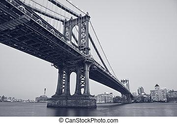 マンハッタン 橋, ニューヨーク, city.