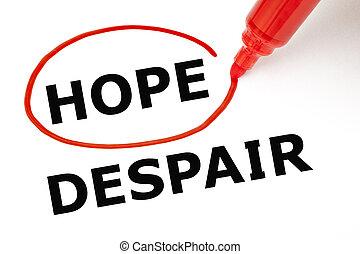 マーカー, 絶望, ∥あるいは∥, 希望, 赤