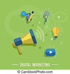 マーケティング, 概念, デジタル