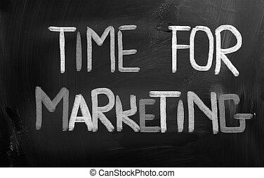 マーケティング, 概念, 時間