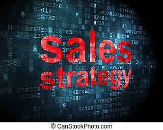 マーケティング, 販売, 作戦, 背景, デジタル, concept: