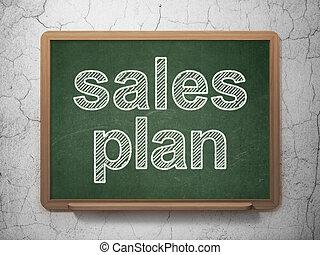 マーケティング, 販売, 計画, 背景, concept:, 黒板