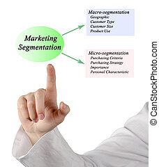 マーケティング, segmentation