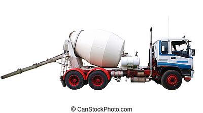 ミキサー, トラック, コンクリート