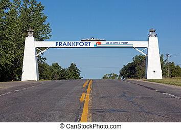 ミシガン州, frankfort, あなた, 歓迎