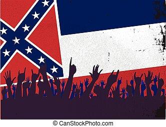 ミシシッピーの旗, 聴衆, 州