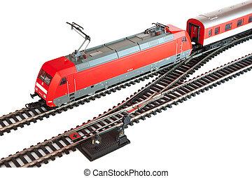 ミニチュアの列車