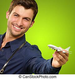 ミニチュア, 人, 保有物, 飛行機