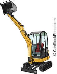 ミニ, 掘削機