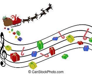 ミュージカル, クリスマス, 背景