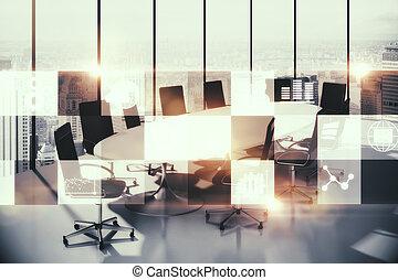 ミーティング部屋, ∥で∥, デジタル, インターフェイス